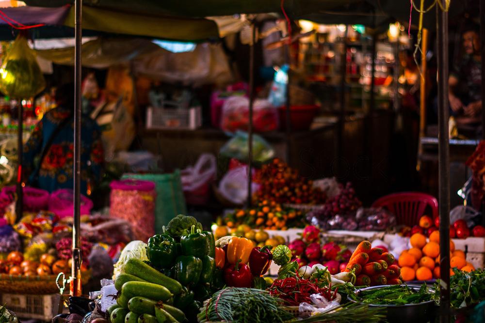 アジアのマーケット