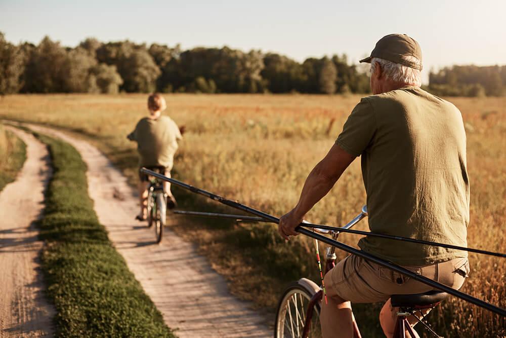 祖父と子供