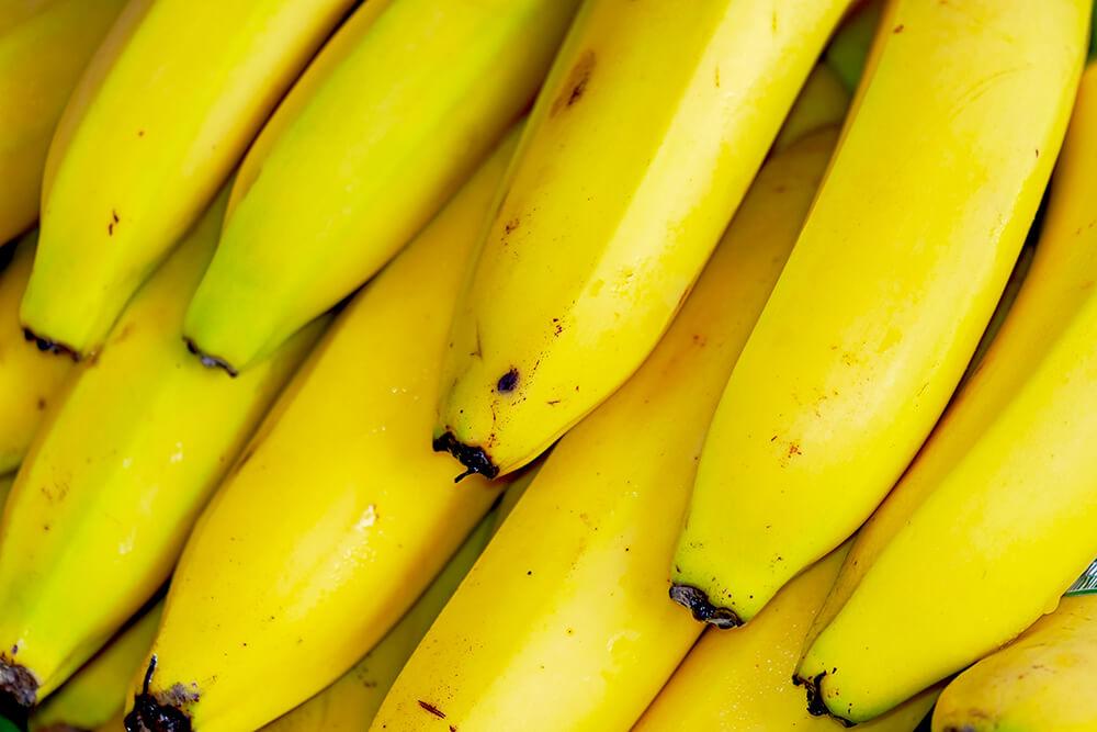 黄色い沢山のバナナ